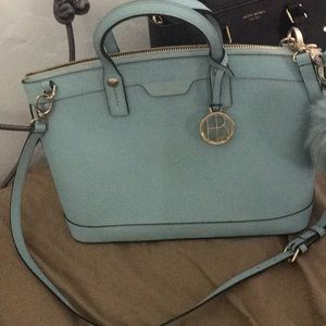 Henri bendel blue purse
